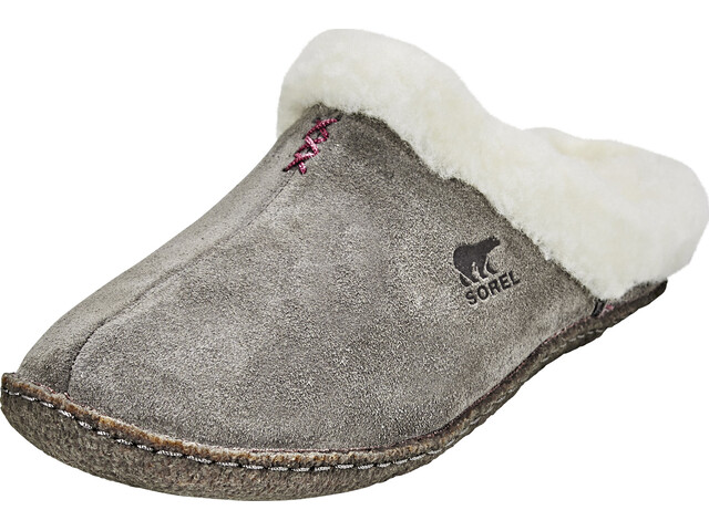 Sorel Nakiska Slide Pantoffels Dames grijs